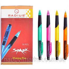 Ручка шариковая Radius Spark синяя, 50 шт.