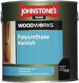 Лак паркетный  полиуретановый Polyurethane Varnish Clear Johnstone's 2,5л