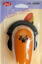 Дирокол фігурний для дитячої творчості CD-88MB №60 кутовий
