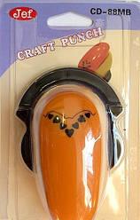 Дирокол фігурний для дитячої творчості CD-88MB №57 кутовий
