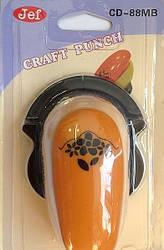 Дирокол фігурний для дитячої творчості CD-88MB №61 кутовий