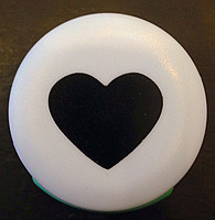 Дырокол фигурный для детского творчества JF-823C №9 Сердце