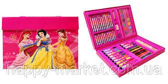 """Набор для детского творчества """"Princess"""" (68 предметов) чемодан, фото 2"""