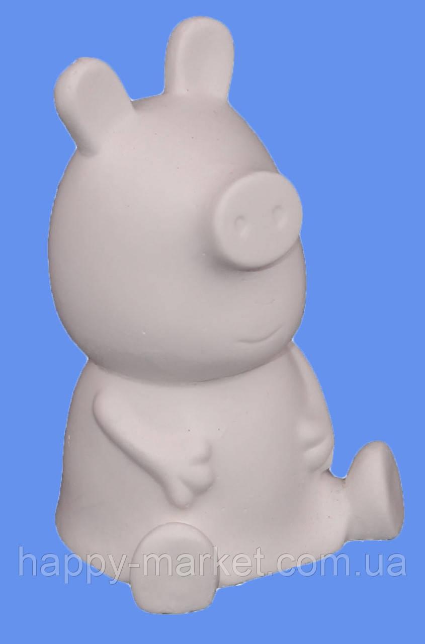 """Гипсовая фигурка для раскрашивания """"Свинка Пеппа"""" с красками и кисточкой СП2-93СК"""