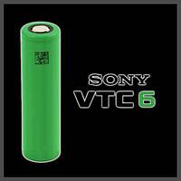 Акумулятор высокотоковый Sony VTC6 3120mAh 30А, фото 1