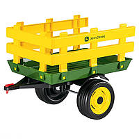 Прицеп  2-х колесный Peg-Perego  John Deere Stake Side Trailer Италия желтый