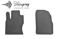 Резиновые коврики Stingray Стингрей Форд Фокус 2 2004-2011 Комплект из 2-х ковриков Черный в салон. Доставка по всей Украине. Оплата при получении