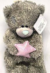"""Игрушка """"Мишка Тедди"""" со звездой (плюшевый) 28 см. №28-Т"""
