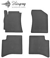 Резиновые коврики Stingray Стингрей Джили МК Кросс 2010- Комплект из 4-х ковриков Черный в салон. Доставка по всей Украине. Оплата при получении