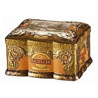 Чай черный Basilur коллекция Ларец Янтарь 100г