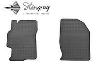 Резиновые коврики Stingray Стингрей Мазда 6 2008-2013 Комплект из 2-х ковриков Черный в салон. Доставка по всей Украине. Оплата при получении