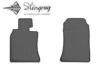 Не скользящие коврики Мини Купер второй 56 2006- Комплект из 2-х ковриков Черный в салон. Доставка по всей Украине. Оплата при получении
