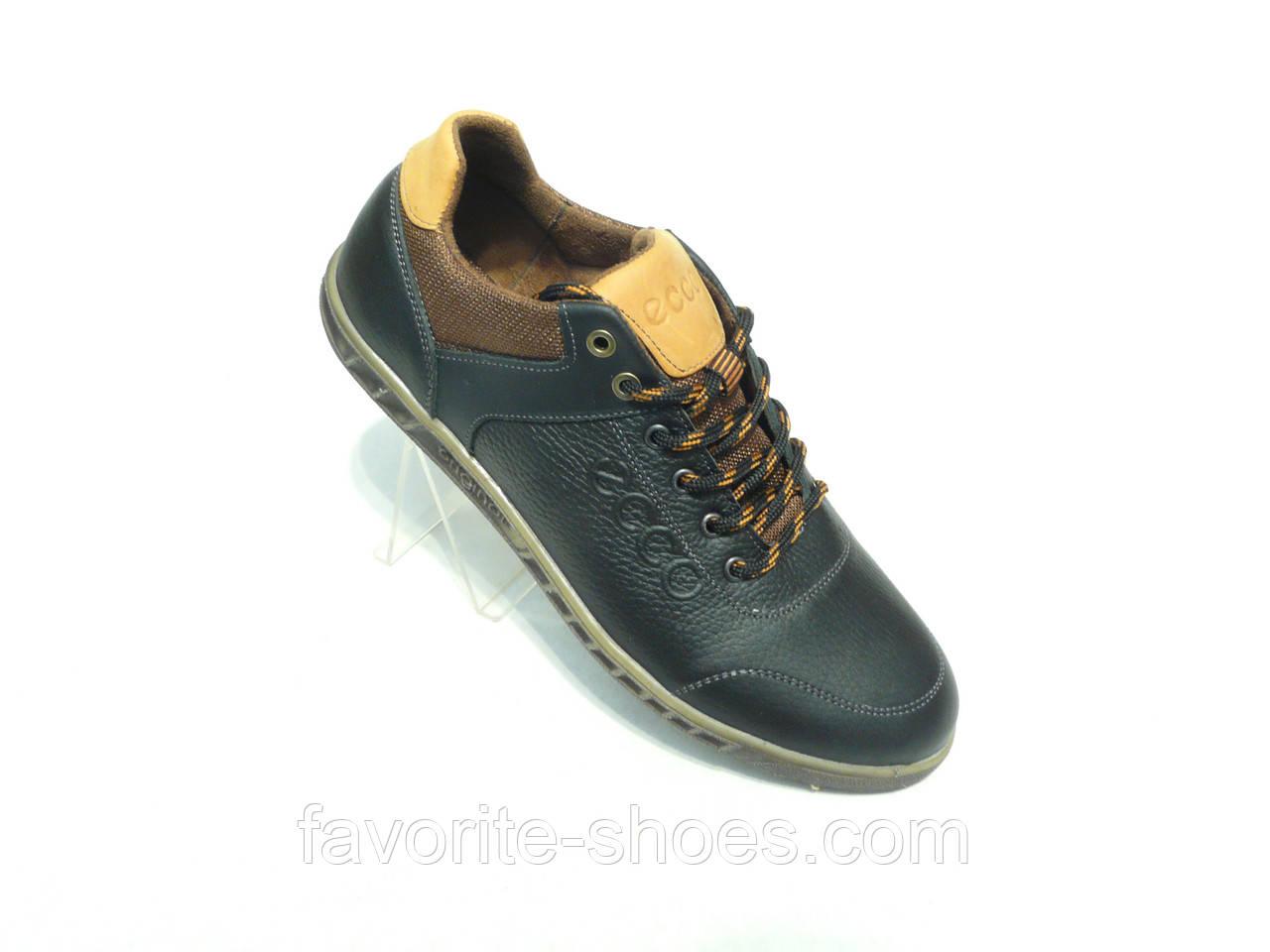 Кожаные мужские спортивные туфли ECCO ч.: продажа, цена в ...