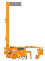Шлейф (Flat cable) LG D820 Nexus 5/  D821 с разъемом зарядки,  микрофоном,  компонентами