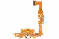 Шлейф (Flat cable) LG E450/ E451G/ E460 с гнездом зарядки и микрофоном. кнопкой меню