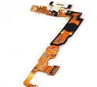 Шлейф (Flat cable) LG P710 с гнездом на зарядку,  микрофоном,  кнопкой меню