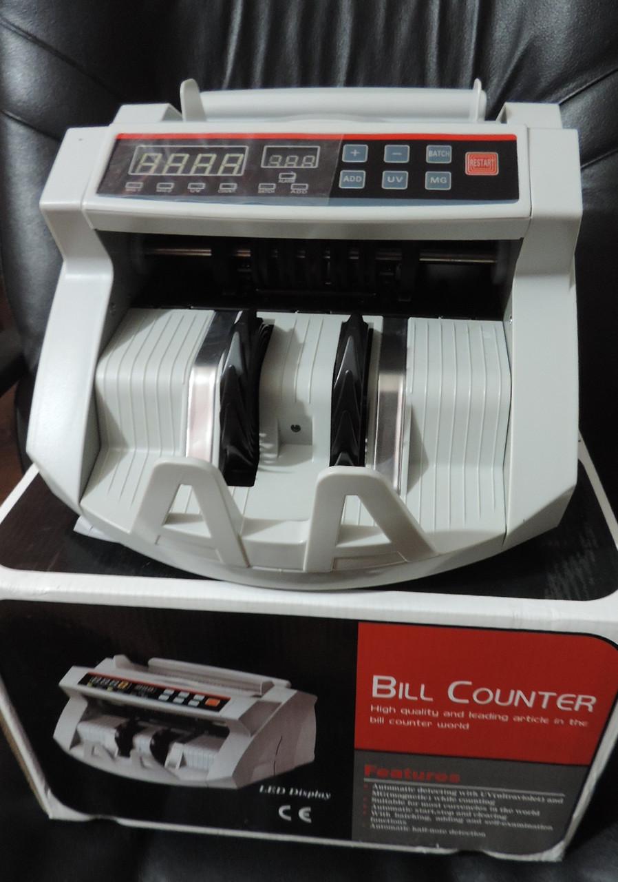 Машинка для счета купюр с детектором валют