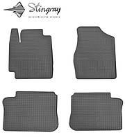Резиновые коврики Stingray Стингрей Тойота Камри XV20 1997- Комплект из 4-х ковриков Черный в салон. Доставка по всей Украине. Оплата при получении