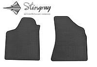 Резиновые коврики Фольксваген Пассат Б4 1993- Комплект из 2-х ковриков Черный в салон. Доставка по всей Украине. Оплата при получении