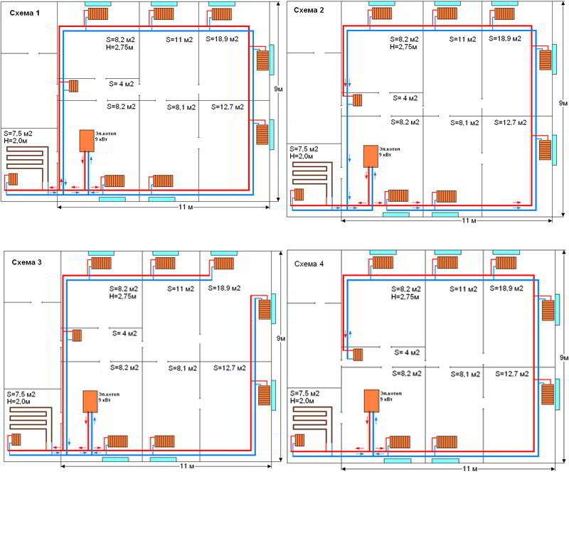 Теплотехнический расчет электроотопления для получения льготного тарифа на электроэнергию