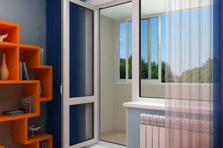 Балконні двері