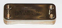 Теплообменник вторичный, пластинчатый для котлов Beretta Super Exclusive, Nobel Plus. Код: 17B1901201