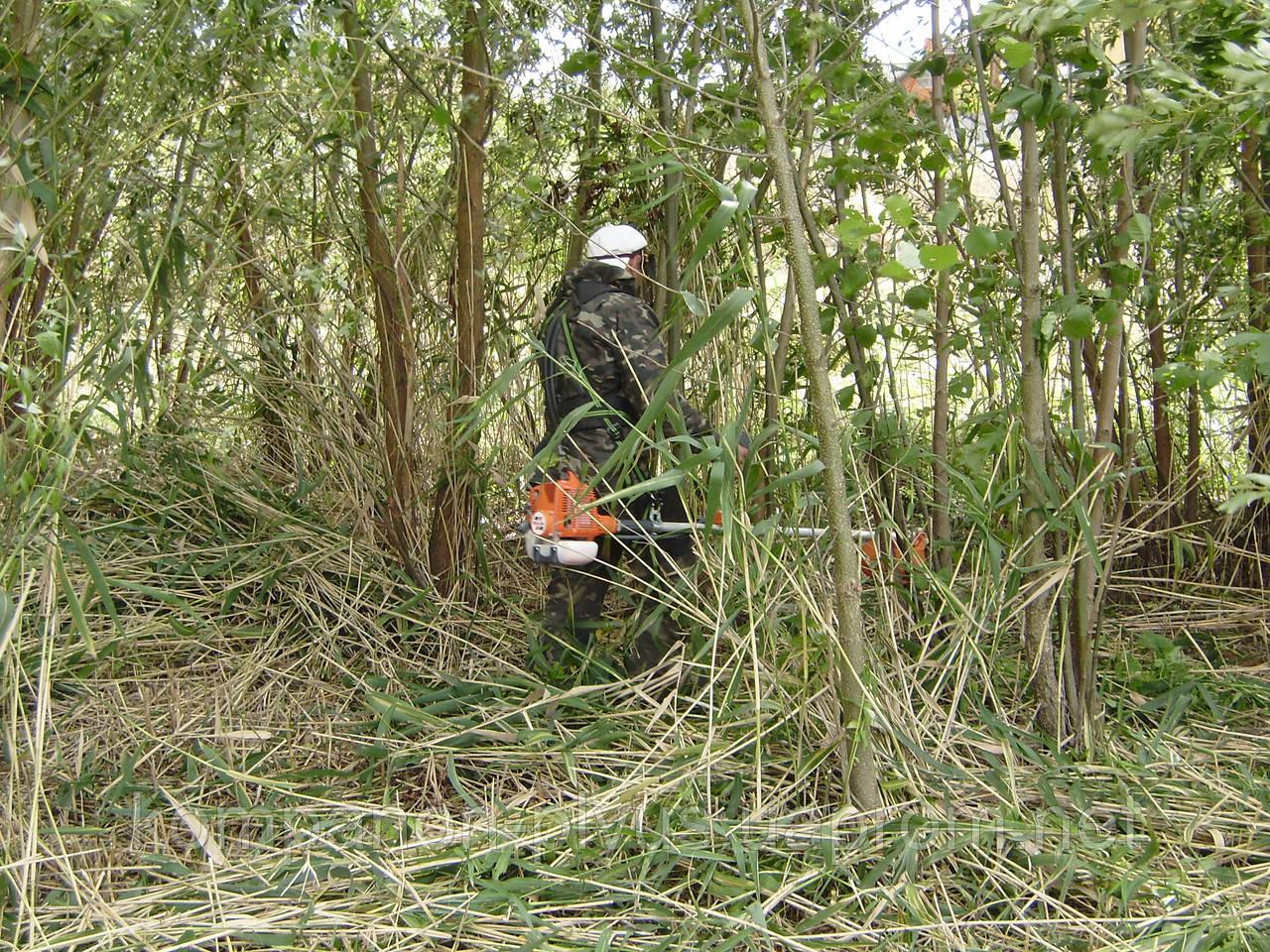 Стрижка травы Киев Скашивание травы