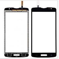 Сенсор (Touch screen) LG D380/ D385 Optimus L80 черный