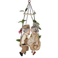Набор фарфоровых кукол Дедушка с бабушкой