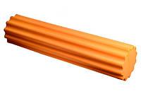 Ролик массажный ребристый (60см) РР4020 оранжевый
