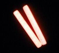 """Полимерная глина """"Пластишка"""", красного свечения, люминофорный, фосфоресцентный, 17 г"""