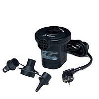 Насос для матрасов электрический 220В Intex 66620