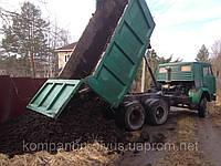 Грунт растительный, чернозем с доставкой по Киеву.