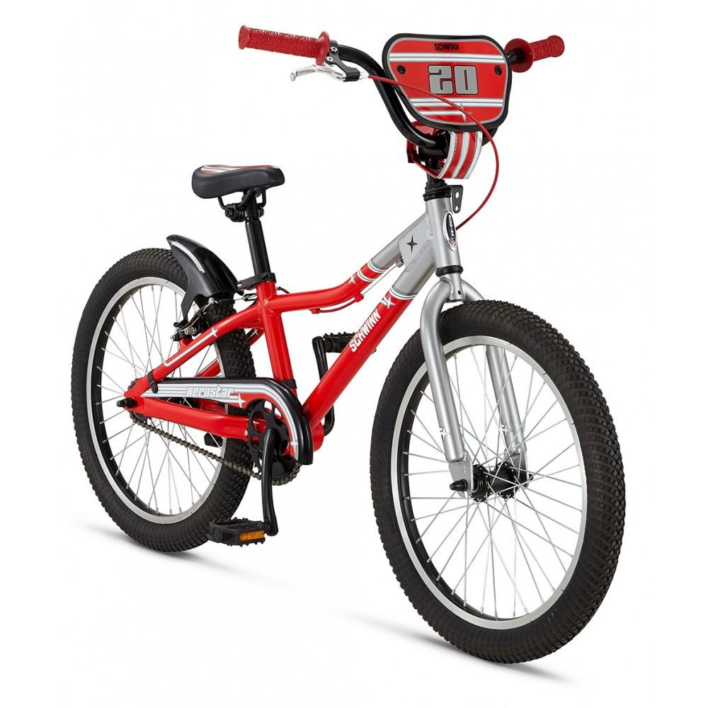 "Велосипед 20"" Schwinn Aerostar boys 2016 silver/red"