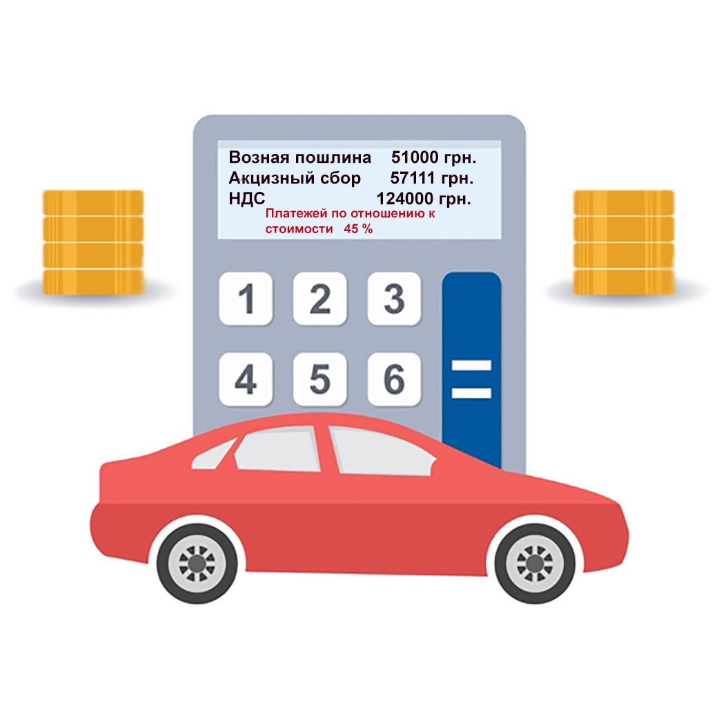 Калькулятор растаможки авто в Украине 2018