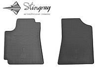 Коврики резиновые авто Geely Emgrand EC 7  Комплект из 2-х ковриков Черный в салон. Доставка по всей Украине. Оплата при получении