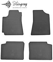 Коврики резиновые авто Geely Emgrand EC 7  Комплект из 4-х ковриков Черный в салон. Доставка по всей Украине. Оплата при получении
