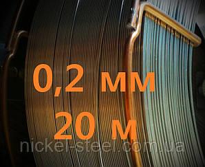 Проволока нержавеющая 0,2 мм 20 метров