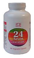24/7 (24 Seven Life Essentials) лучший комплекс витаминов и минералов 180 капсул