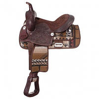 Седло для лошади Calico в стиле Western