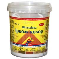 Шпаклевка Ирком-Колор красное дерево 0.7 кг