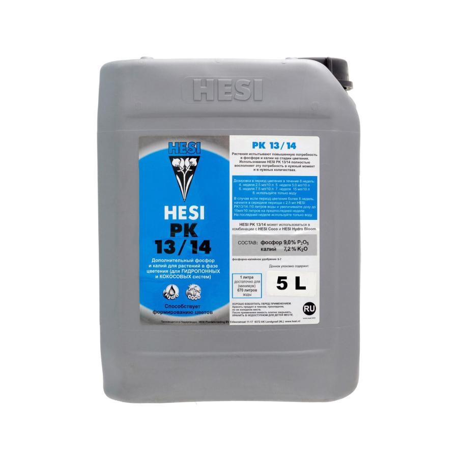 HESI PK 13/14  5L. Минеральное удобрение для гидропоники. Оригинал. Нидерланды.