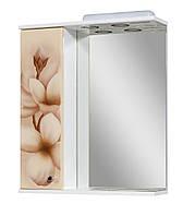 Зеркало для ванной 60-01 левое Диана