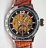 Мужские механические часы скелетон Слава С5225