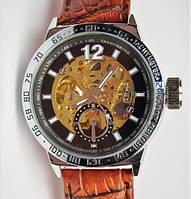 Мужские механические часы скелетон Слава С5225, фото 1