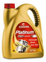 Моторное масло PLATINUM MaxExpert V 5W–30 4L