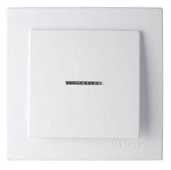 NILSON TOURAN Выключатель с подсветкой белый