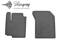 Коврики резиновые авто Suzuki Vitara  2015- Комплект из 2-х ковриков Черный в салон. Доставка по всей Украине. Оплата при получении