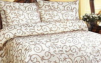 Евро комплект постельного белья, фото 1