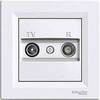 TV/R розетка конечная (1 dB) Asfora белый, EPH3300121